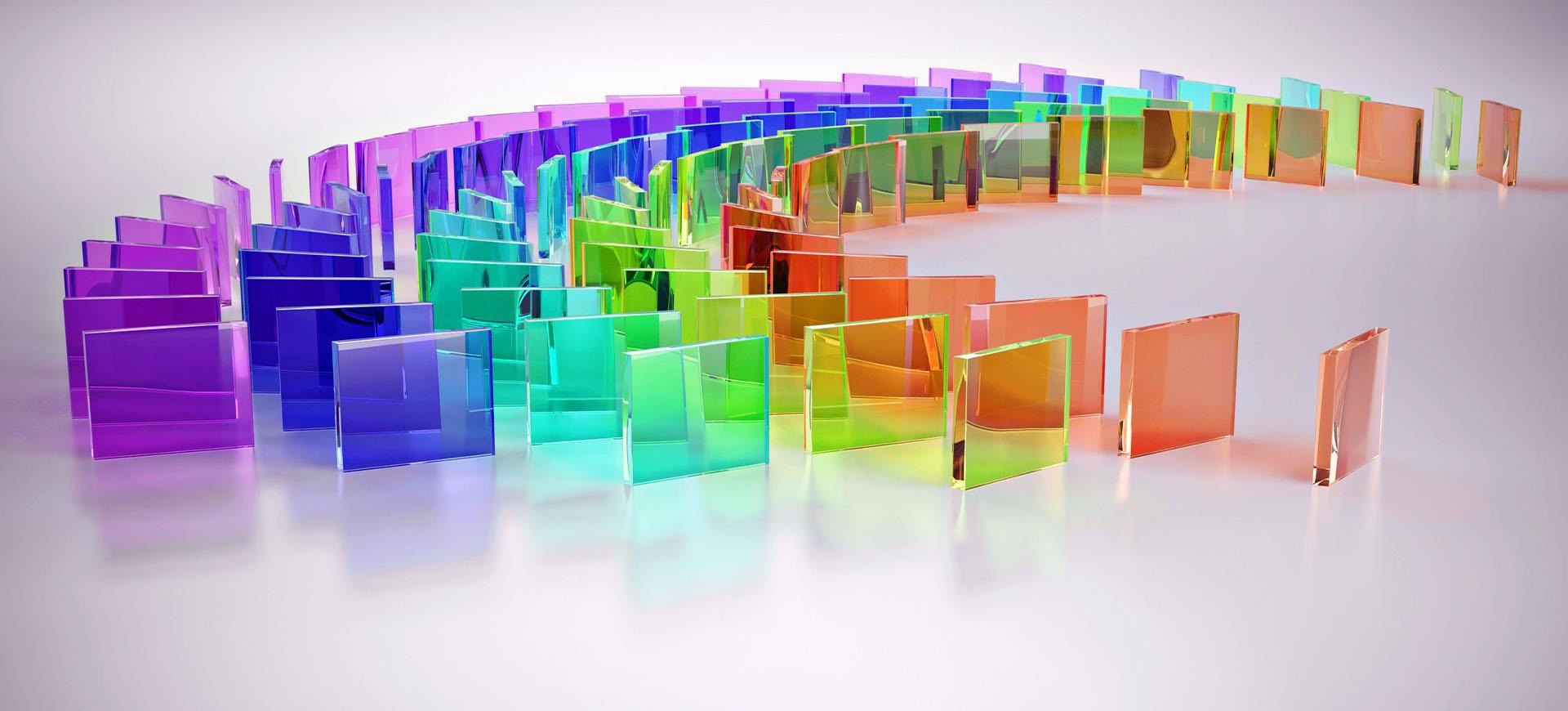 impressão Digital direto no vidro
